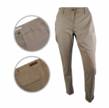 Wholesale Womens Ex Chainstore Chinos Smart Casual Trousers Beige
